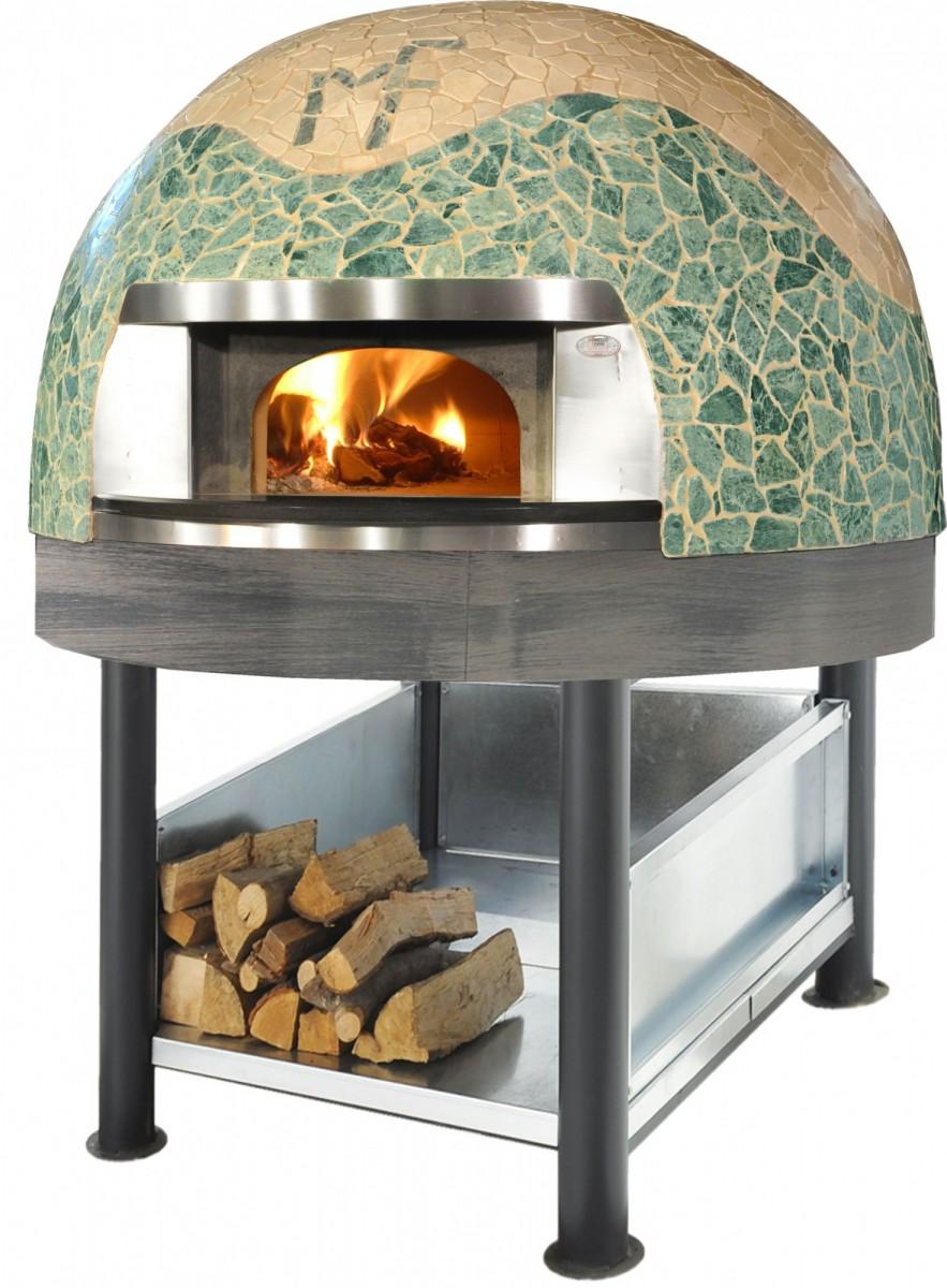 Пицца печь дровяная L-150 Cupola Mosaico