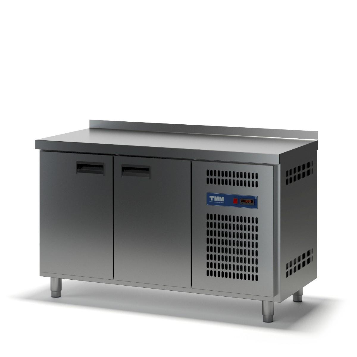 Стол холодильный двухдверный СХСБ-2/2Д 1390х700