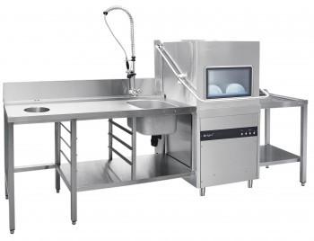 Машина посудомоечная Abat МПК-1100К купольная