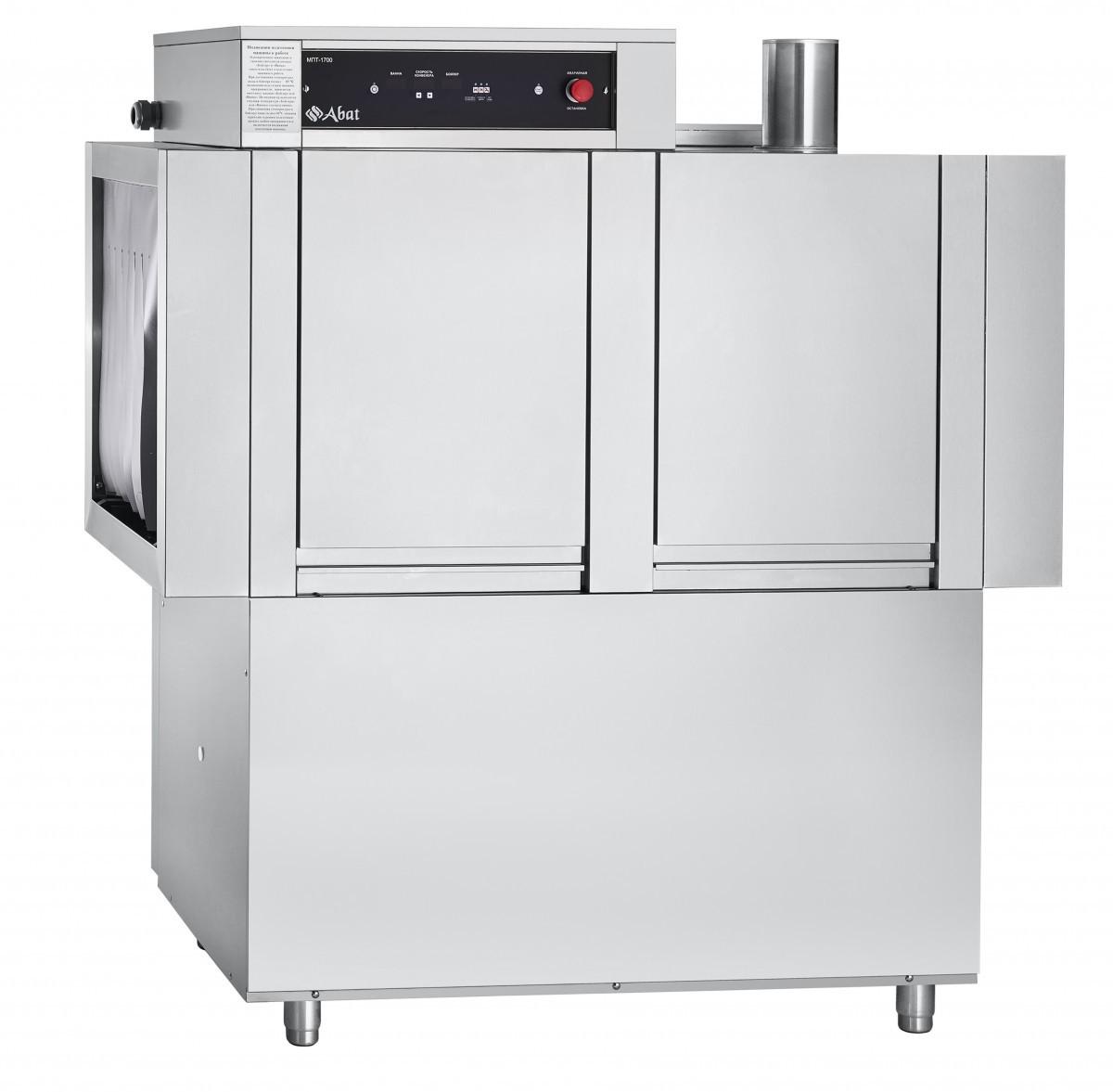 Машина посудомоечная Abat туннельная МПТ-1700 правая
