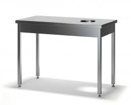 Стол для сбора отходов разборный ССП-1/1000/600