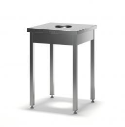Стол для сбора отходов разборный ССП-1/600/600