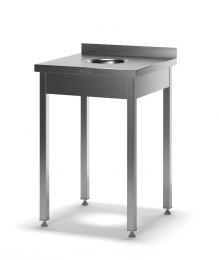 Стол для сбора отходов разборный ССП-2/600/600