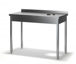 Стол для сбора отходов разборный ССП-2/1200/600