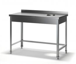 Стол для сбора отходов разборный ССН-2/1200/600