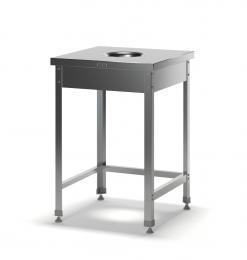 Стол для сбора отходов разборный ССН-1/600/600