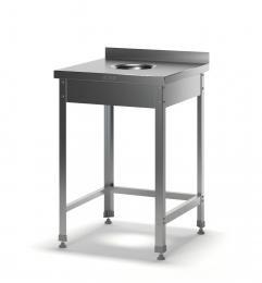 Стол для сбора отходов разборный ССО-2/600/600