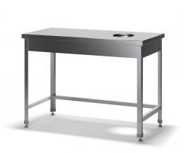 Стол для сбора отходов разборный ССО-1/1000/600