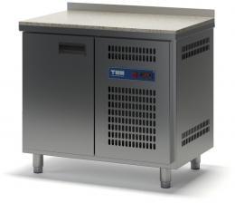 Стол холодильный с гранитной столешницей однодверный СХСБ К-2/1Д 945х700