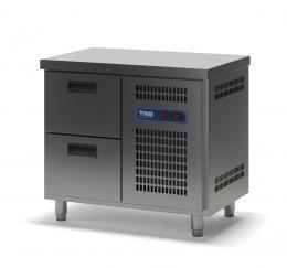 Стол холодильный с выдвижными ящиками СХСБ-1/2Я 945х600