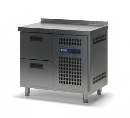 Стол холодильный с выдвижными ящиками СХСБ-2/2Я 945х600