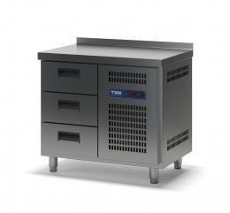 Стол холодильный с выдвижными ящиками СХСБ-2/3Я 945х700