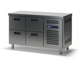 Стол холодильный с выдвижными ящиками СХСБ-1/4Я 1390х700