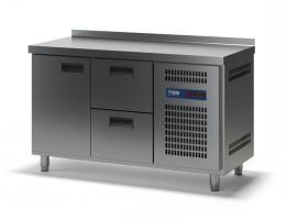 Стол холодильный с выдвижными ящиками СХСБ-2/1Д-2Я 1390х700