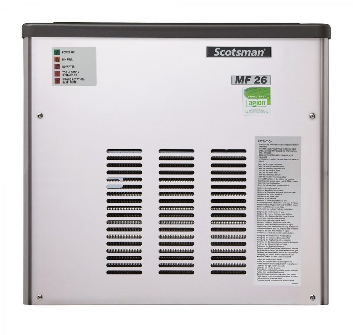Льдогенератор Scotsman MF 26 WS