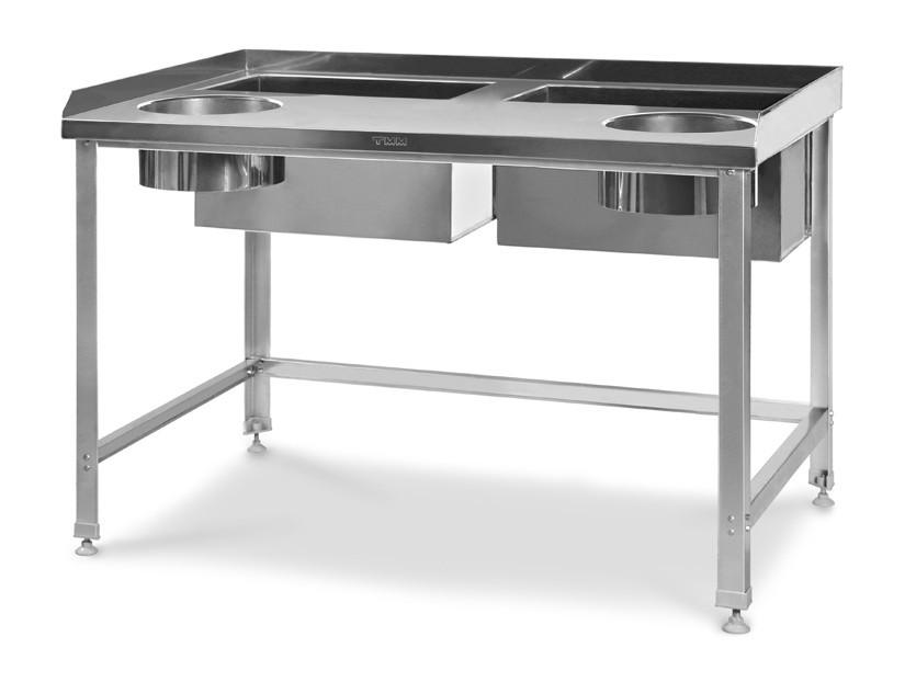 Стол для обработки корнеплодов и овощей СДК-Н 1200/800