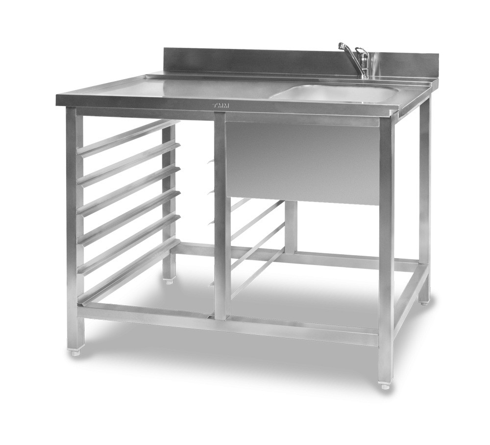 Стол для посудомоечной машины СППМ 1200/700
