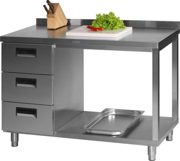 Стол с выдвижными ящиками СВД-2/1500/600