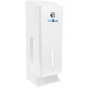 Диспенсер туалетной бумаги прямоугольный NOFER