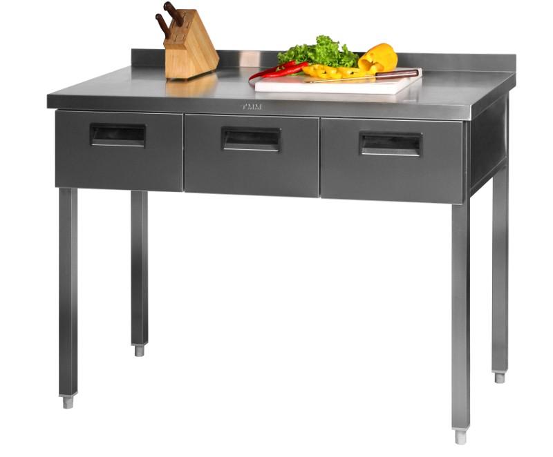 Стол с выдвижными ящиками СГД-2/1500/600