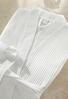 Вафельный халат кимоно